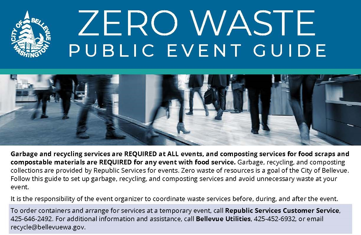 City of Bellevue Zero Waste Events Guide