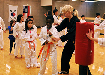 Martial arts at South Bellevue Community Center