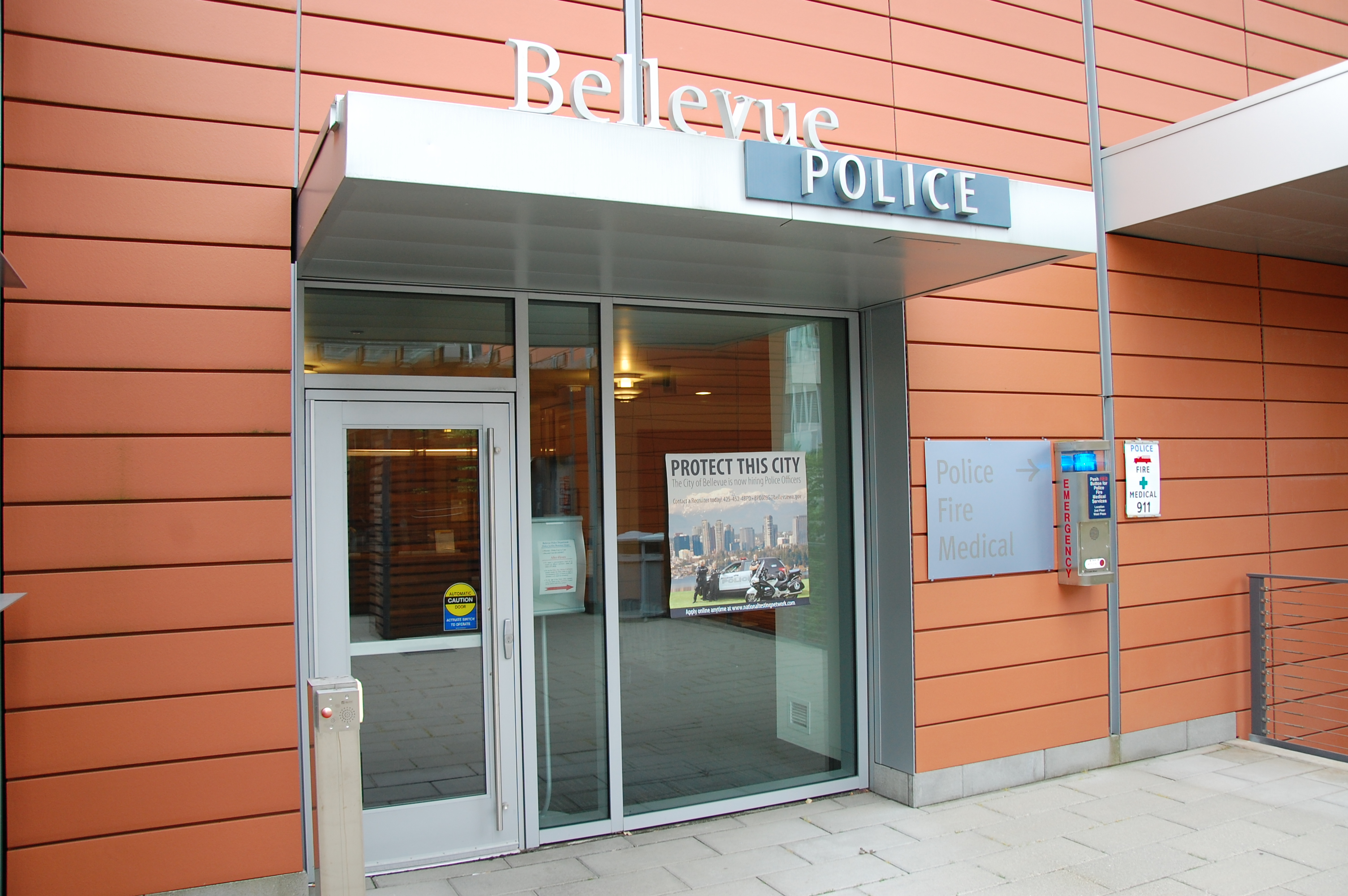 image of Bellevue Police Department headquarters