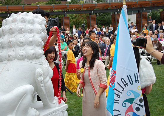 Image of celebration for the 30th anniversary of the Bellevu