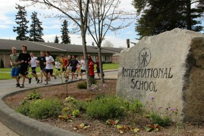 International School is a high school in the Bellevue School