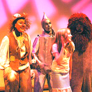 "A BYT production of the ""Wizard of Oz."""