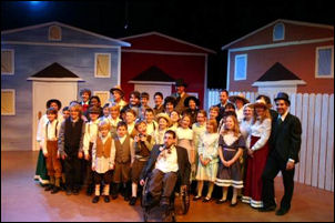 Cast of Bellevue Youth Theatre production