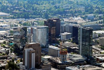 image of downtown bellevue 2006