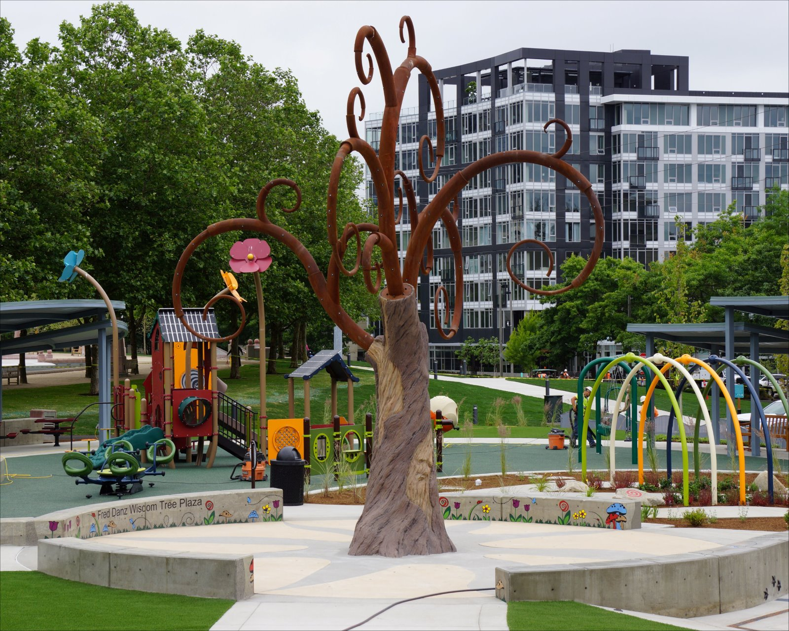 Downtown Park's Inspiration Playground