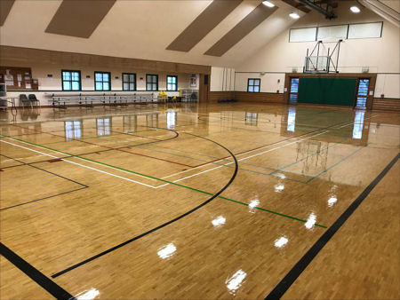 Highland Community Center's Gym