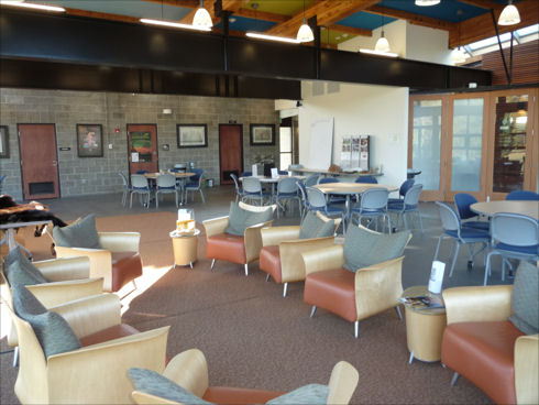 Lewis Creek Visitor Center - Lounge Area