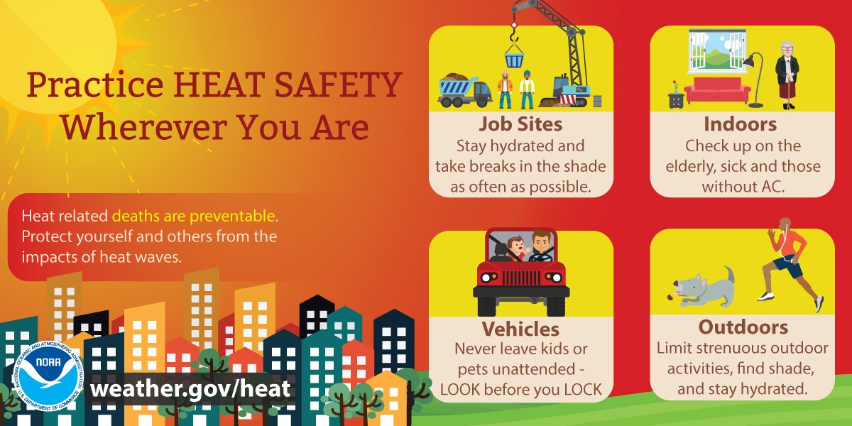 Practice heat safety