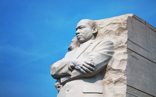 Statue image of Martin Luther King Jr.