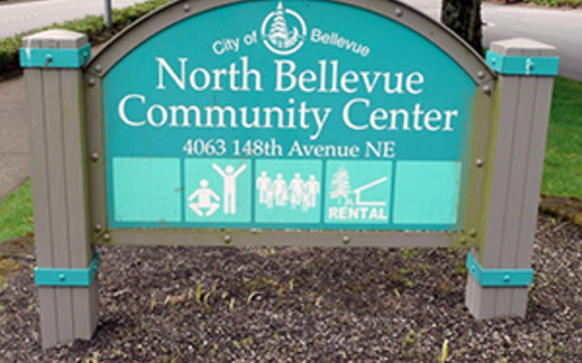 North Bellevue Community Center sign