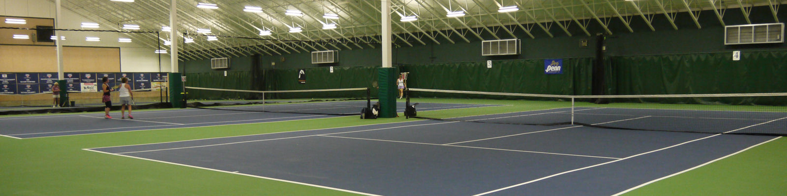 Robinswood Tennis Center - inside