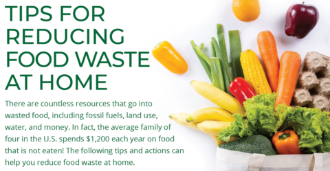 Tips for Reducing Food Waste at Home