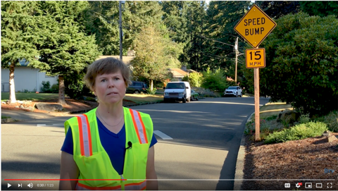 A thumbnail of a video about speedbumps. Click to watch the video.