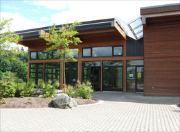 image of Lewis Creek Park Visitor Center - front entrance