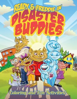 Disaster Buddies Coloring and Fun Activities