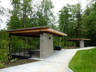 Lewis Creek Park Picnic Shelters